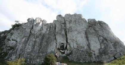 Racuch skała w Dolinie Racławki