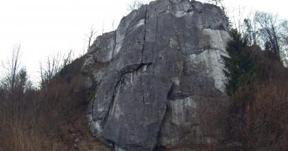 Nowa droga na Pazurku koło Olkusza
