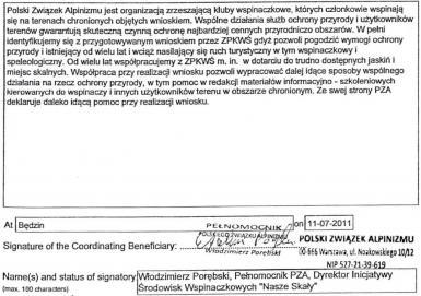 Odpowiedź do W. Porębskiego - DO IŚW NS PZA oraz Zarządu PZA