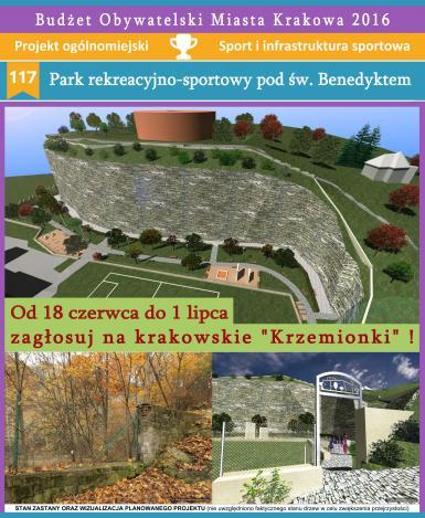 Zagłosuj na rewitalizację krakowskich Krzemionek !